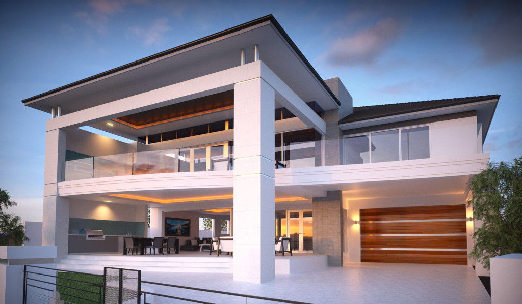 Seacrest client home Sc front sloping block house designs australia house designs,Block Home Designs