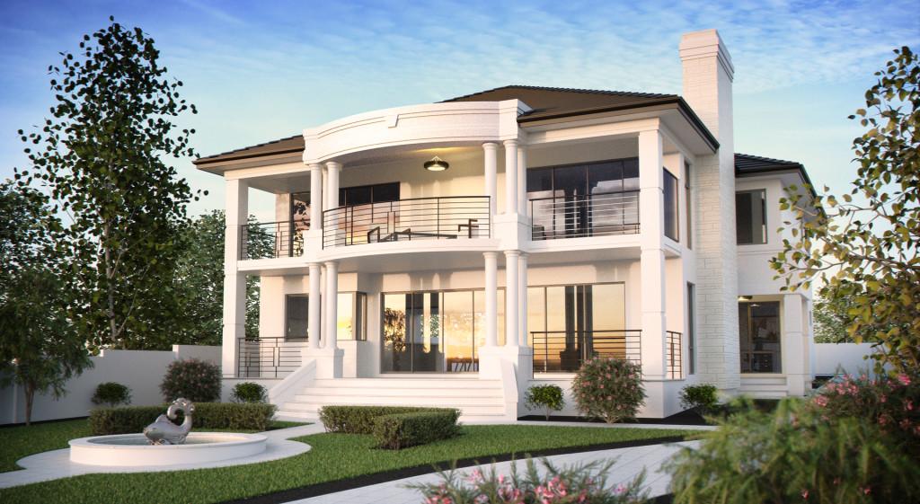 Seacrest client home elevation