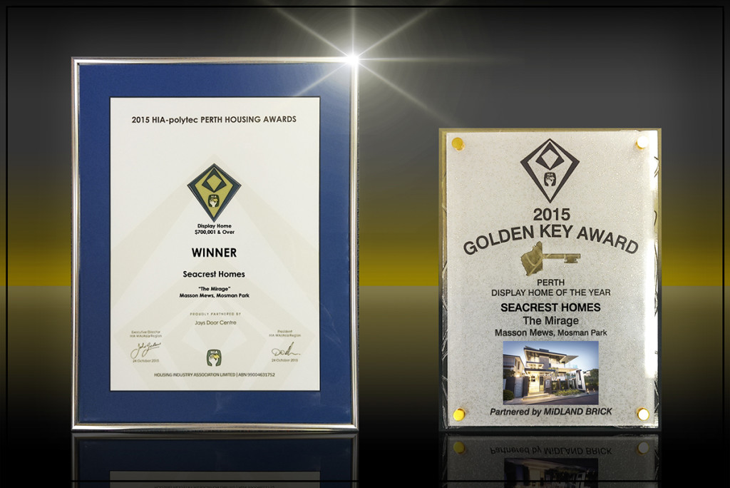 2015 HIA Perth Golden Key Award Winner Seacrest Homes